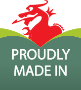 proudly made in Wales